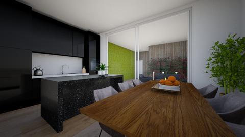 keuken 1 - Kitchen  - by Claradanixx