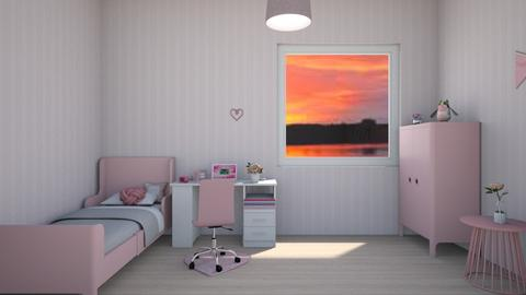 pink - Bedroom - by Asa56678
