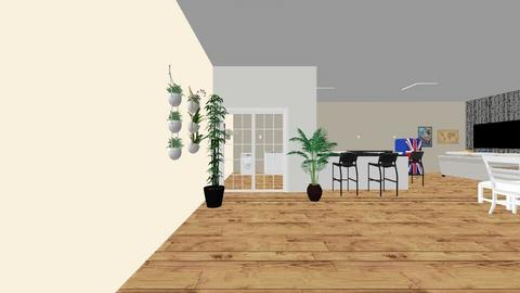 Area churrasco_cozinha - Kitchen  - by gilalves