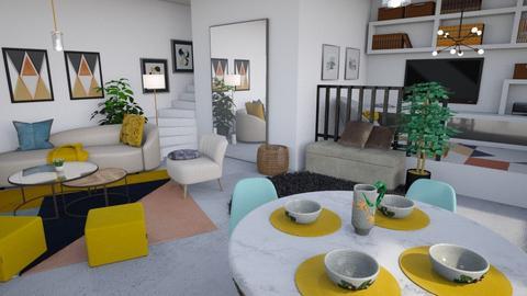 Argunto - Living room  - by LillMiaaa