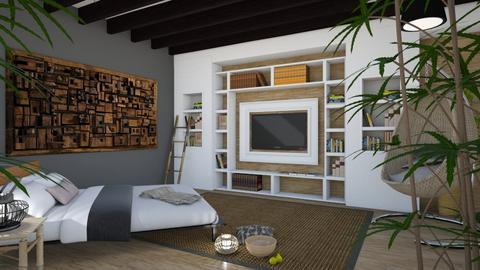 bamboo nights - Bedroom - by nabilacandra