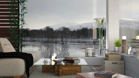Boathouse on ice - Eclectic - Living room  - by Sally Simpson