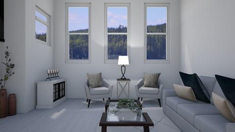 Jodis living room pt 5 - Modern - Living room - by ebungarden