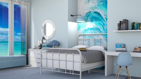 Ocean Bedroom - Bedroom  - by gumball13