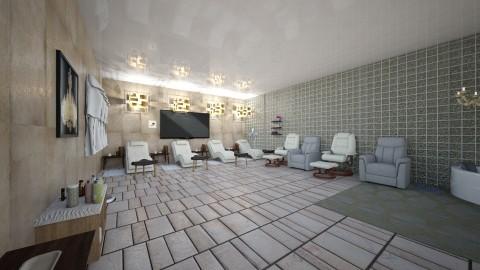 relaxation spa - Country - Bathroom  - by AURORA SCOTT ALLEN