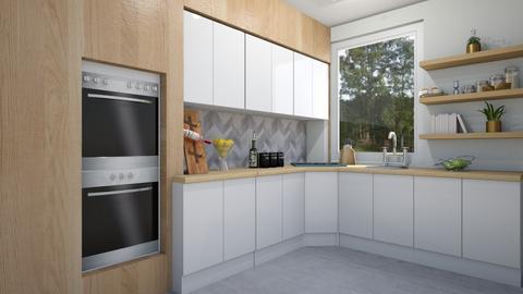 4 kitchen wood - Kitchen  - by ewcia3666