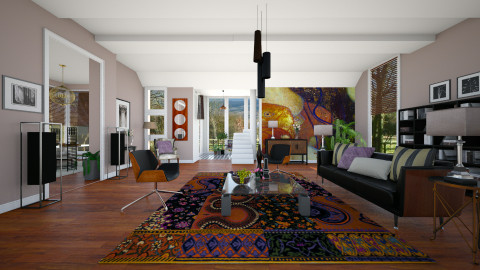 Fearless - Modern - Living room  - by janip