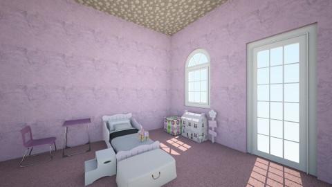 Girl Child Bedroom - Kids room  - by WuzKeeily