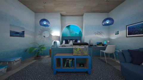 Under the sea - Minimal - Bedroom  - by deleted_1588309730_ Koilee Bear
