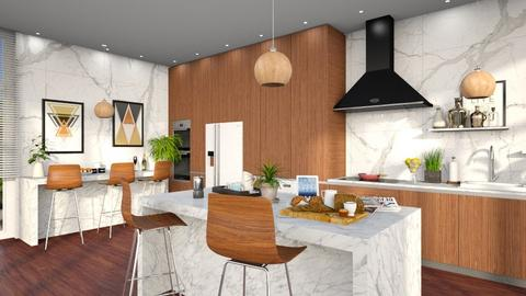 Kitchen - Modern - Dining room  - by Louisa caulton