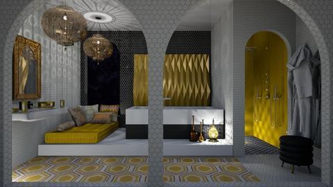 Orient - Bathroom  - by chania