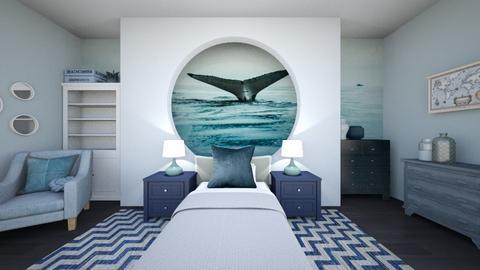 whalewatchingroomremix - Modern - Bedroom  - by tahliawaters