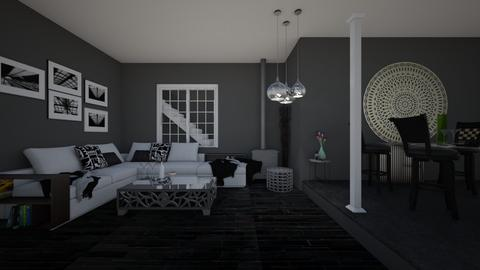 grey interior - by lucy_world