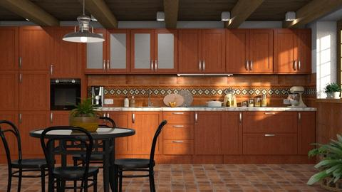 605 - Rustic - Kitchen  - by Claudia Correia