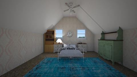 vintage sleepy room - Vintage - Bedroom  - by lelandJ889