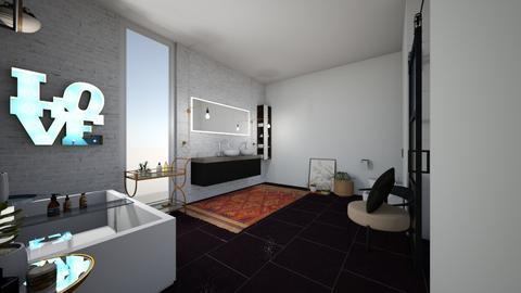 boho bathroom - Modern - Bathroom - by 17Marie12