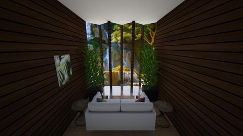 Jungle Themed snug 2 - Living room  - by Riordan Simpson