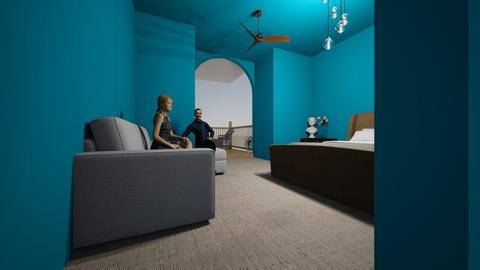 greek bedroom - Modern - Bedroom  - by Science lover 15