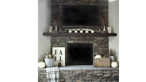 fireplace - by WendyMaxwell