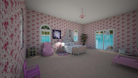 Dream girl room - Kids room  - by JuliaSundblad