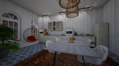 Dining room 1 - Dining room  - by katarinalaaksonen