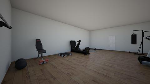 Gym - Modern - by Jaclynroark2009