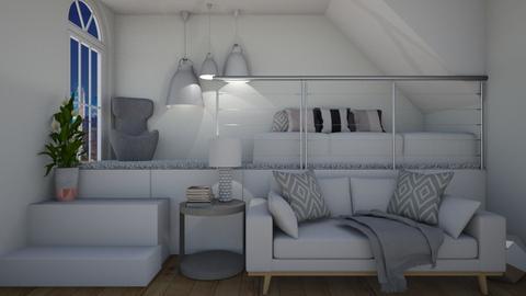 loft bedroom - Bedroom  - by rhod365