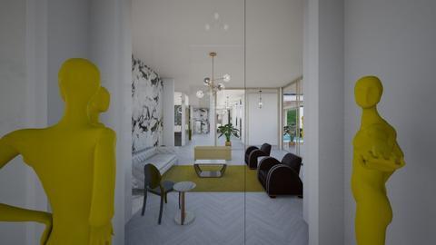 Glamour_living room_art - Living room  - by lovasemoke