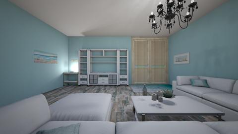 beach house - Minimal - Living room  - by jaxboy2008