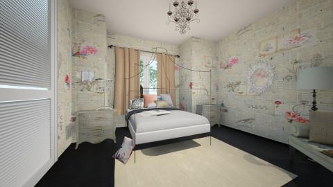 Katie - Bedroom - by amynicole17