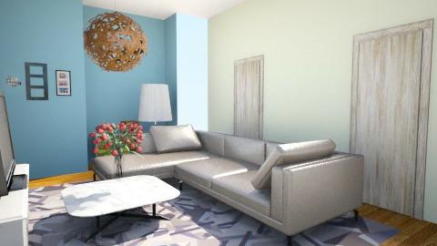 livingroom - Glamour - Bathroom  - by yamirali