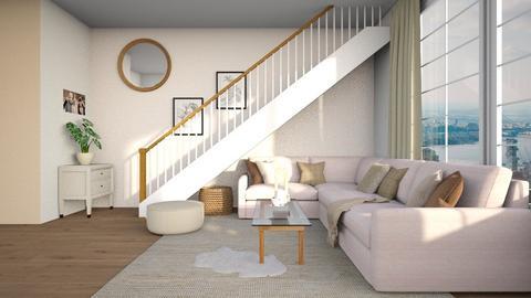 minimal - Living room  - by Kokore