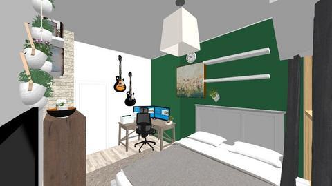 bedroom but I struggle - Bedroom  - by FreyaHeawood
