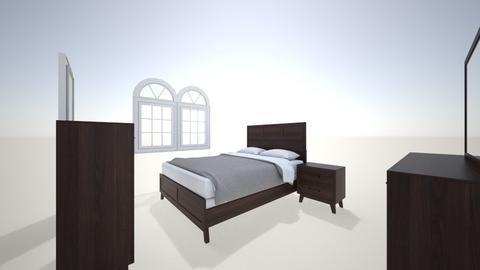 Master bedroom - Modern - Bedroom  - by TyeDie24
