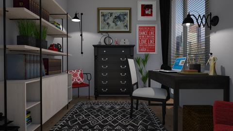 Eclectic - Office  - by Tuija