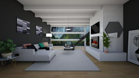 Modern Interior Living - by abbigoodwin