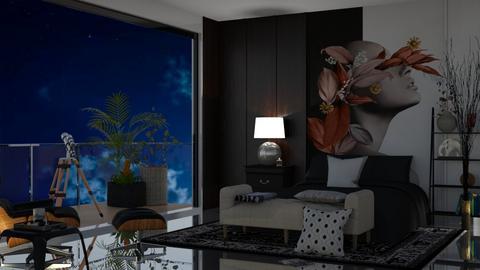 bedroom  - by nat mi