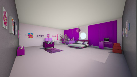 my best's friend room - Bedroom - by angycrazy