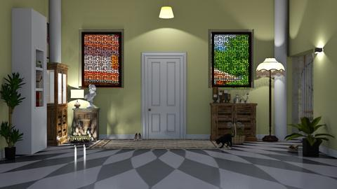 Bienvenue - Classic - Living room  - by elephant in savanna