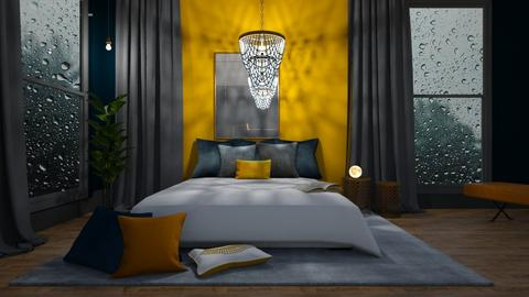 Autumn bedroom - by Esko123