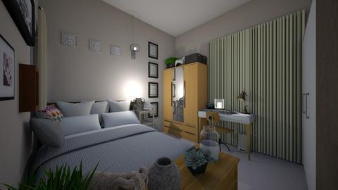 MDroom2 - Bedroom  - by Kat998