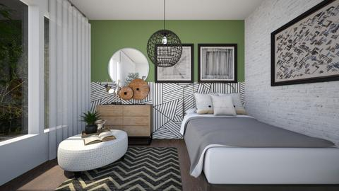 Combination - Eclectic - Bedroom  - by Lucii