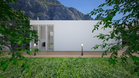 Glamour_house1 - Garden  - by lovasemoke