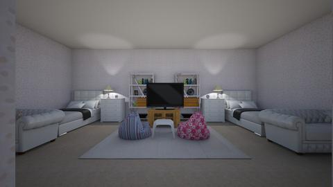 twin room  - Bedroom  - by abakolis1663