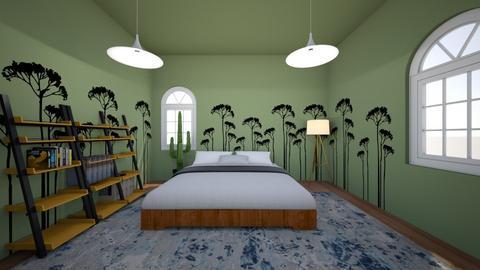 OK OK OK OK  - Bedroom  - by FANGIRLdesigner