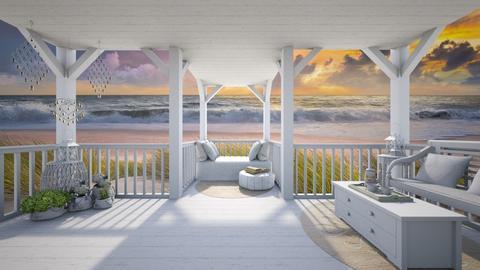 Summer porch - Garden  - by daydreamer84