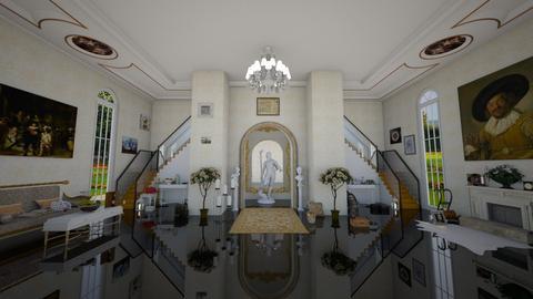 Maximalist Hallway - Classic - by Lina_19