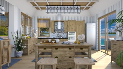 Design 508 Oceanside Kitchen - Kitchen  - by Daisy320