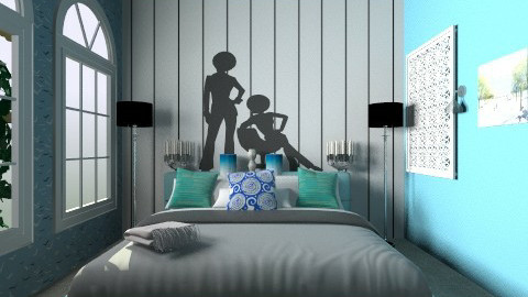 MY ROOM - Modern - Bedroom  - by aarish khan