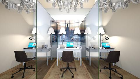 Social distance office - Office  - by Rose_Design